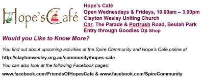 Scots Church Adelaide - Giving Hope, Gaining Happiness